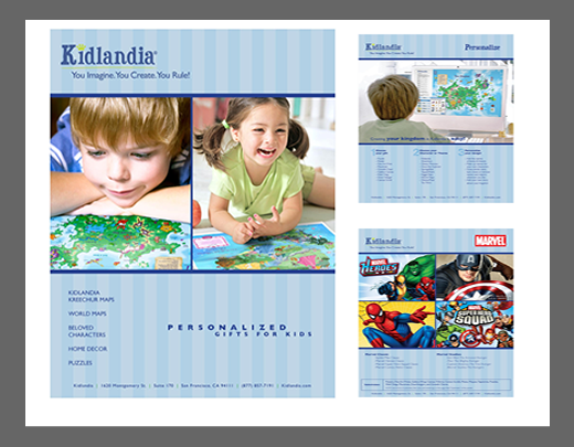 Kidlandia Product Catalog